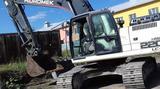 Демонтаж зданий и пром сооружений, Экскаватор с ги