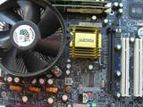 Комплект мат. плата+ процессор+ кулер+ память